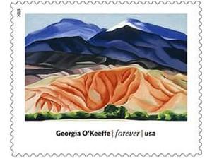 USPS Stamp - Georgia O'Keeffe