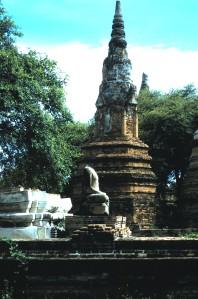 Ancient City of Ayutthaya, Thailand.  Photo by Sue Jimenez