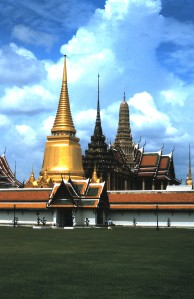 Royal Grand Palace, Bangkok, Thailand.  Photo by Sue Jimenez