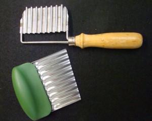 Wavy Cutting Blades