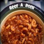 Beef-A Roni