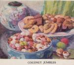 """""""Coconut Jumbles"""", 1926, Franklin Baker Company"""