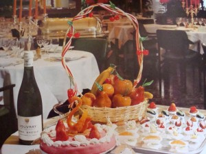 "Le Cheval Rouge, Montoire-sur-le-Loir.  From ""Masterpieces of French Cuisine"", 1971.   Recipe provided by Chef Robert Herve"