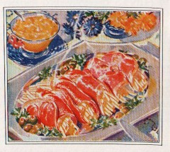 """""""Macaroni Papoose"""", from The Jean Rich Cook Book, 1930 (Golden Age Corporation)"""