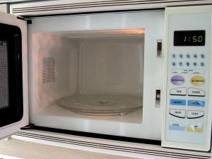The Modern Microwave.  It's even Portable!