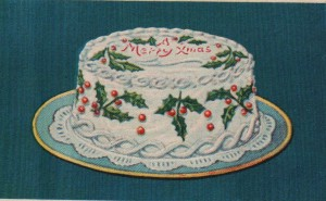 """""""Purity Christmas Cake"""", 1923, from Purity Flour Cook Book, Western Canada Flour Mills Co. Ltd."""