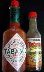 Tabasco, the 'gold standard' and another hot sauce....
