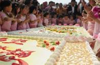 World's Largest Fruitcake, Managua, Nicaragua.