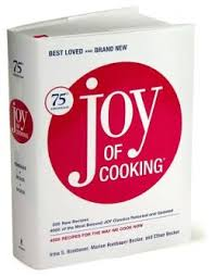 "75th Anniversary Edition of ""Joy of Cooking"" (he's B-A-C-K!)"