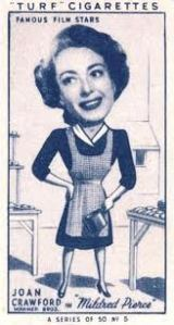 Caricature of Joan Crawford, date unknown