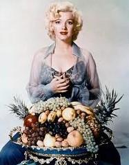 Was Marilyn Monroe a closet frugivore?