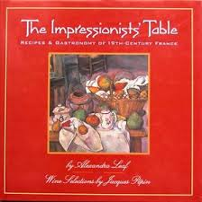 """The Impressionists' Table"", by Alexandra Leaf, 1994"