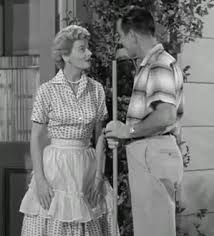 June and Ward Cleaver (I don't think June was ever seen without her pearls)