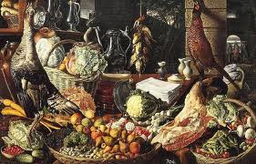 """Kitchen Scene"", by Joachim Beuckelaer (1533 - 1573)"