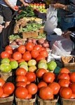 Locally grown produce, esteemed by Locavores