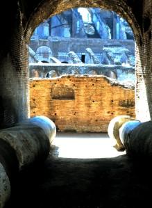 The Coliseum, Rome, Italy. Photo by Sue Jimenez