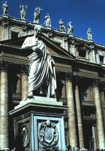 Statue of Charlamagne, St. Peter's Basilica, The Vatican, Rome, Italy