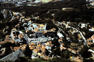 View of Sintra, Portugal from my room at Hotel Palacio dos Seteais.  Photo by Sue Jimenez