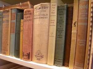 Older cookbooks, like these in my collection, often have hidden treasures inside them