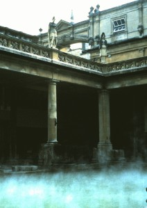 Roman Baths, Bath, England, 1988 (Photo by Sue Jimenez)