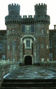 Herstmonceux Castle, Greenwich, England, home of the Royal Greenwich Observatory, 1988 (Photo by Sue Jimenez)