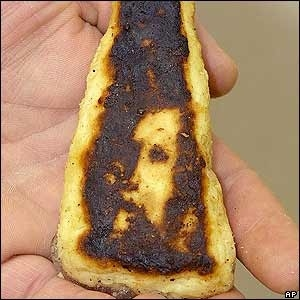 Jesus in a fish stick (Photo Credit:  unknown)