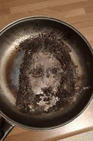 Jesus in a frying pan.  (Photo Credit:  www.theguardian.com)