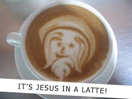 Latte Jesus (Photo Credit:  www.swick.co.uk)