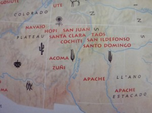 The Navajo Nation occupies northeast Arizona and Northwest New Mexico