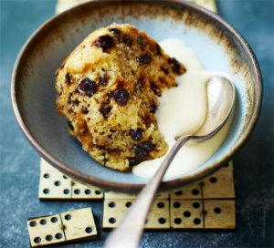 """Spotted Dick"" (Photo Credit:  www.bbcgoodfood.com)"