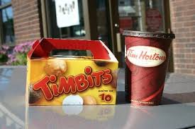"""Timbits"" at Tim Horton's Donut Shops. If you have to ask, you're not Canadian! (Photo Credit: www.todaysfreestuff.ca)"