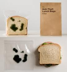 Here's a great idea to keep your co-workers from stealing your sandwich from the lunchroom refrigerator! (Photo Credit:  www.switched.com)