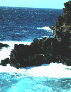 Leeward Coast, Oahu, Hawaii, 1996 (Photo by Sue Jimenez)