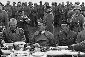 Hitler had a sweet tooth, especially for cakes (Photo Credit:  www.dailymail.co.uk)