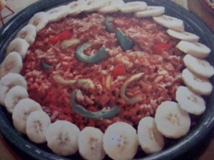 """""""Mexican Rice I"""" from """"Mexican Cookery for American Homes"""" by Gebhardt's (1960)"""