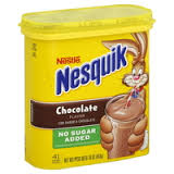 Was Nesquik a favorite beverage of Osama Bin Laden? (Photo Credit:  caloriecount.about.com)