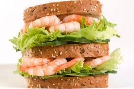 Nice looking, but probably pricy shrimp sandwich (Photo Credit:  www.mirror.co.uk)