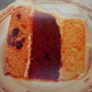 """""""Tit Tat Toe Cake"""" (Photo Credit: The Old West Baking Book, Lon Walters, 1996)"""
