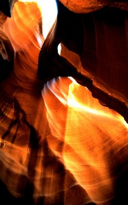 Antelope Canyon, Arizona, 1997 (Photo by Sue Jimenez)
