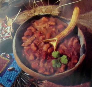"Anasazi Bean Soup from ""Spirit of the Harvest - North American Indian Cooking"" by Beverly Cox and Martin Jacobs, 1991"