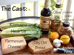 """Typical"" Caesar Salad ingredients (Photo Credit:  www.comfortablydomestic.com)"