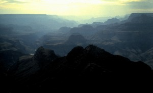 Grand Canyon, Arizona, 1997  (Photo by Sue Jimenez)