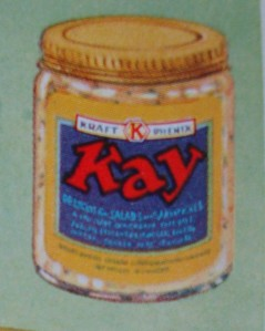 """Kay"" cheese product from Kraft-Phenix, 1931"