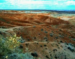 Painted Desert, Arizona, 1997 (Photo by Sue Jimenez)