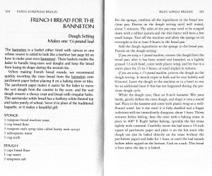 "The recipe for ""French Bread for the Banneton"" from ""Rustic European Breads from your Bread Machine"""