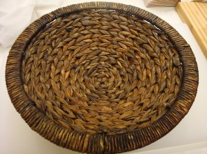 The wicker basket I used as my banneton