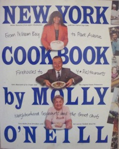 """New York Cookbook"" by Molly O'Neill"