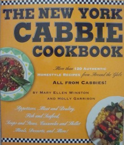 """""""The New York Cabbie Cookbook"""" by Mary Ellen Winston and Holly Garrison"""