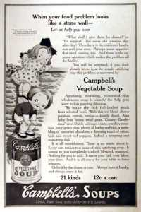 """Campbell's"" ""Appetizing, nourishing, economical"""