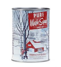 Maple syrup from Quebec usually comes in nifty tins like these, or in larger cans with pourable spouts (Photo Credit:  www.food52.com)